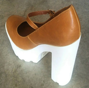NEW Platform Mary Janes Size 8.5, 9, 10