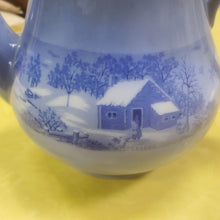 Load image into Gallery viewer, Vintage Currier and Ives Teapot