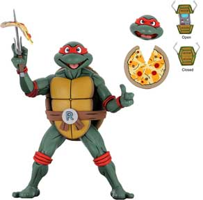 Nytf 2020 - Cartoon Super Size Raphael ¼ Scale Action Figure