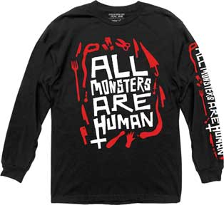 All Monsters Are Human Mens Ls