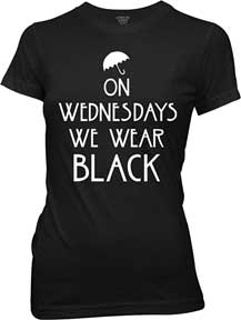 On Wednesdays Juniors T-Shirt