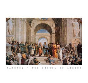 School Of Athens Wall Art