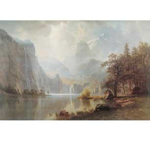 Bierstadt - In The Mountains Wall Art