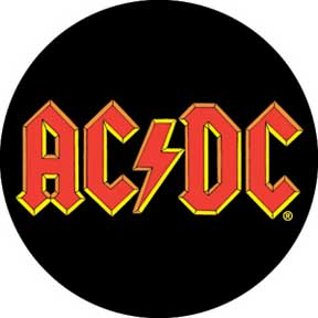 Ac/Dc Logo 1.25In Button