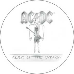 Ac/Dc Flick Of The Switch 1.5In Button