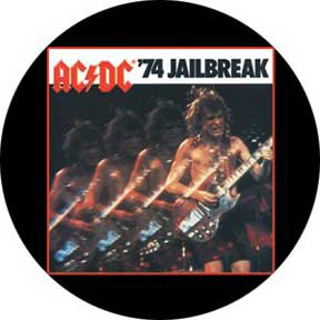 Ac/Dc Jail Break 1.5In Button