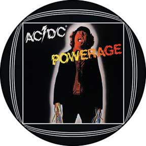 Ac/Dc Powerage 1.5In Button