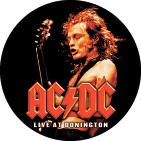 Ac/Dc Donnington 1.5In Button
