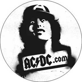 Ac/Dc Angus C/U 1.5In Button