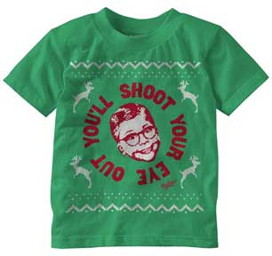 Youll Shoot Your Eye Out Faux Sweater Toddler T-Shirt