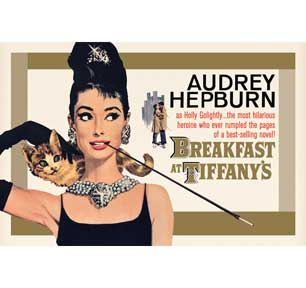 Audrey Hepburn - Breakfast At Canvas
