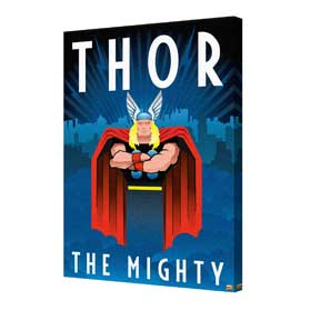Thor - Art Deco Canvas