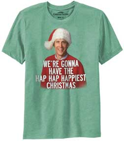 Hap Hap Happiest Christmas Mens T-Shirt