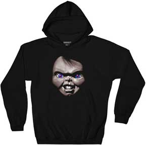 Face Pull Over Fleece Hoodie