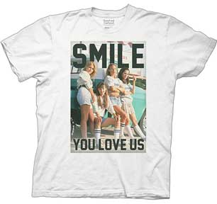 Smile. You Love Us. Senior Girls Photo Mens T-Shirt