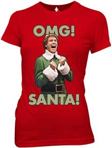 Omg! Santa! Juniors T-Shirt
