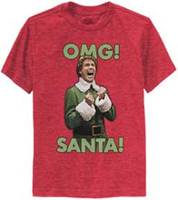 Load image into Gallery viewer, Omg! Santa! Youth T-Shirt