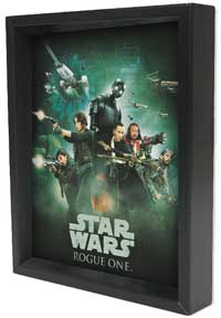 Star Wars - R1 - Rebel Soldier Framed 3D Lenticular
