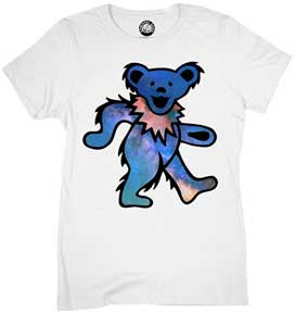 Space Bear Womens T-Shirt