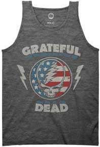 Steal Your Face Stars And Stripes Muscle Tank Top