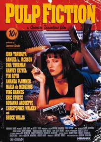 Pulp Fiction - Uma 39In X 55In Giant Poster