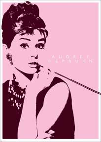 Audrey Hepburn - Cigarello 39In X 55In Giant Poster