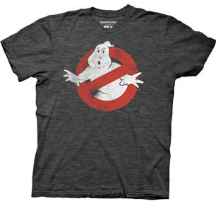 Distressed No Ghost No Type Mens Lightweight T-Shirt