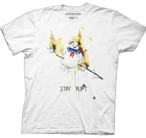 Stay Puft Roasted Illustration Mens T-Shirt