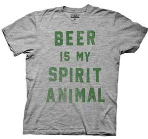 Irish Beer Is My Spirit Animal Mens T-Shirt