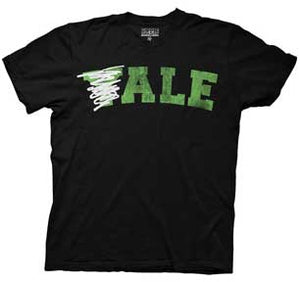 Yale Crossed Out Mens T-Shirt