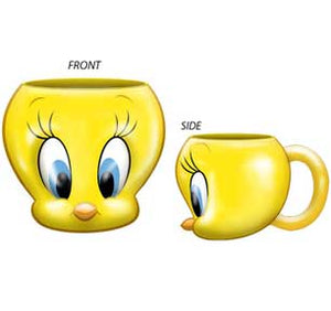 Tweety Face Ceramic 3D Mug