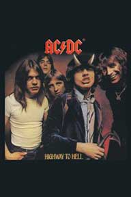 Ac/Dc Highway To Hell Magnet