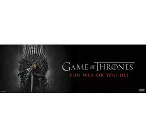 Game Of Thrones - You Win Or Y 12In X 36In Slim Poster
