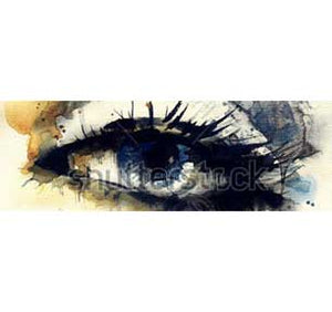 Eye 12In X 36In Slim Poster