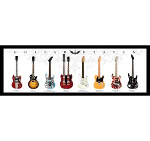 Guitar Heaven 12In X 36In Slim Poster