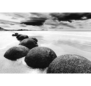 Boulders On The Beach Wall Art