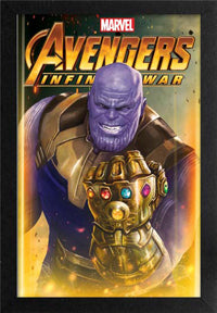 Thanos 11In X 17In Framed Print