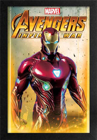 Iron Man 11In X 17In Framed Print