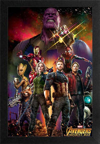 Infinity War 11In X 17In Framed Print