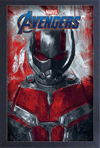Ant Man 11In X 17In Framed Gel-Coat Prints