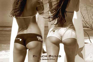 Beach Bums 24In X 36In Poster