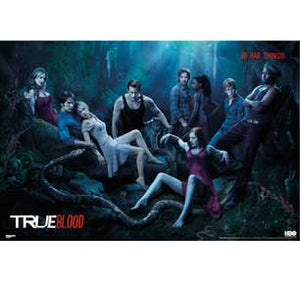 True Blood - Cast 24In X 36In Poster
