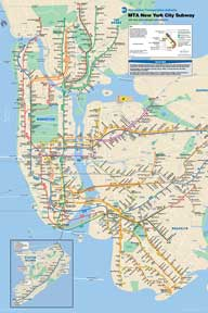 New York City Subway 24In X 36In Poster