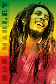 Bob Marley - Colors 24In X 36In Poster