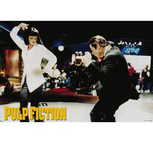 Pulp Fiction - Dance 24In X 36In Poster