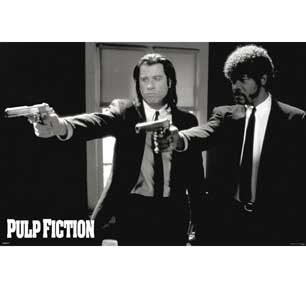 Pulp Fiction - Duo Guns 24In X 36In Poster