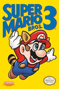 Super Mario Bros. 3 - Cover 24In X 36In Poster