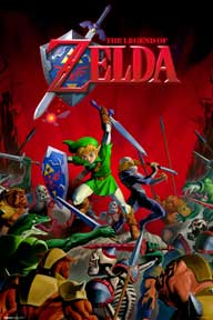 Zelda - Battle 24In X 36In Poster