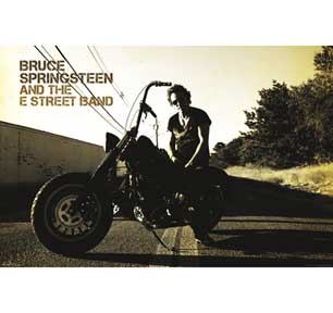 Bruce Springsteen - Motorcycle 24In X 36In Poster