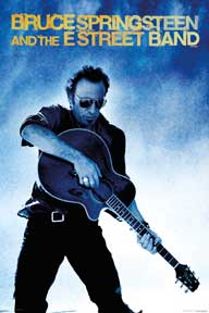 Bruce Springsteen - Guitar 24In X 36In Poster